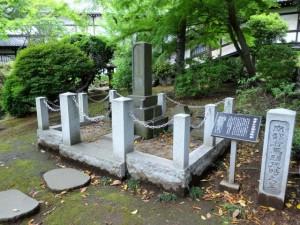 南部茂時の墓