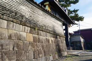 石垣及び築地塀